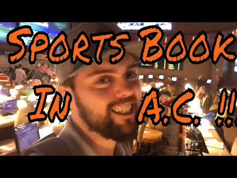 A SPORTS BOOK IN ATLANTIC CITY!!? (Gambling Vlog #17)