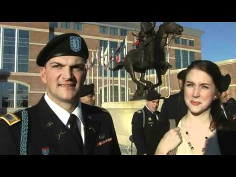 Fort Benning IBOLC Cording Ceremony