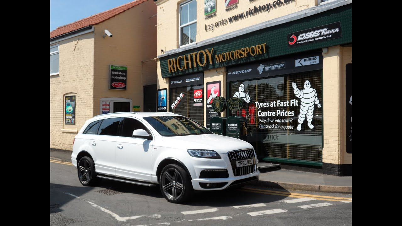 Audi Q7 S Line 3 0 Quattro 2010 Richtoy Hd Youtube