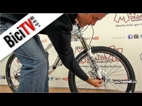 Porque rechina la suspension de mi bicicleta