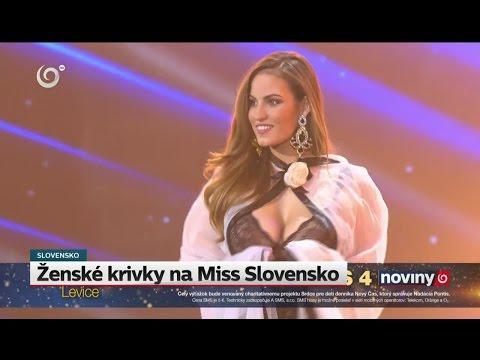 Ženské krivky na MISS SLOVENSKO 2017