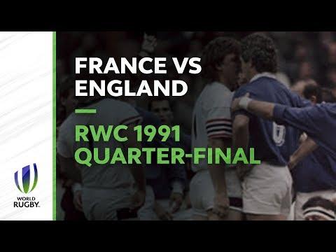 Le Crunch Classic - RWC 1991 Quarter-final France V England