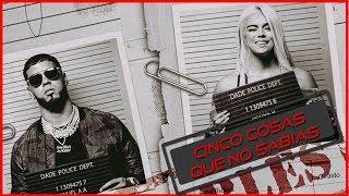 Anuel AA y Karol G #Secreto | Cinco Cosas Que No Sabias Sobre Anuel AA #FreeAnuel #LatinTrap