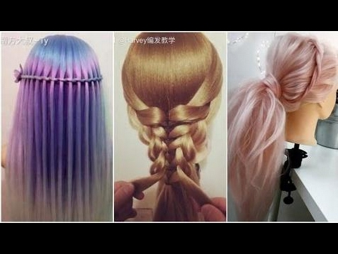 The Most Beautiful Hairstyles Tutorials January 2017 Hairstyle & Make-Up✔