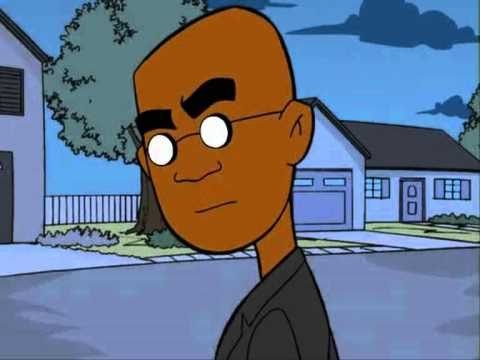 black bald cartoon character that chicken was dry, real dry!