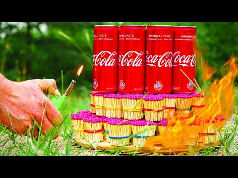 What if you put Coca Cola on a lot of Matches?