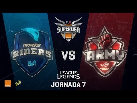 SUPERLIGA ORANGE - RIDERS VS ARMY - Mapa 2 - #SUPERLIGAORANGELOL7