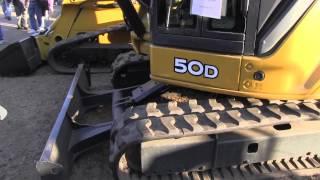 John Deere 50D Excavator Tractor