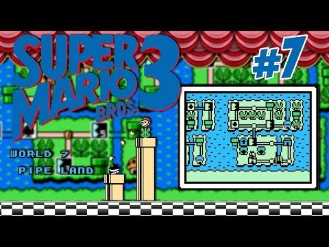 Super Mario Bros.3: #7 / w7: Pipe Land Videos De Viajes