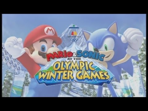 Let's Look at Mario & Sonic at the Winter Olympic Games!