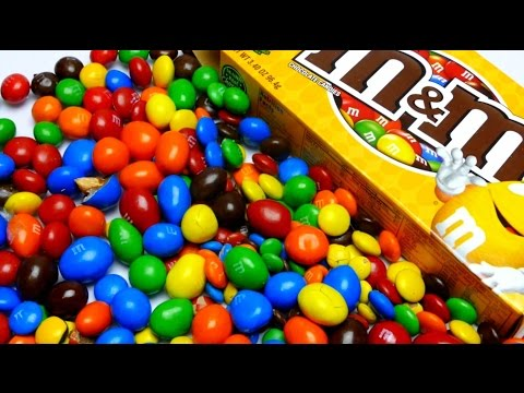 M&M's Collection Candy Unboxing - Which M&M's are the best? ❤