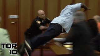 Top 10 Insane Courtroom Outbursts After Sentencing