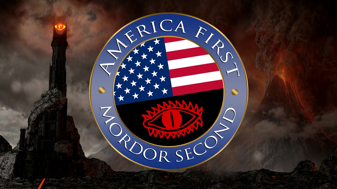America First, Mordor Second - YouTube