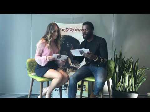 Alycia Debnam-Carey & Colman Domingo Q&A in Mexico City - FearEnMexico