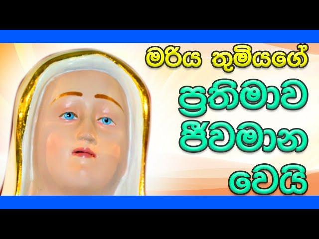 මරිය තුමියගේ ප්රතිමාව ජීවමාන වෙයි | His Holiness Apostle Rohan Lalith Aponso