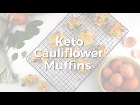 Keto Cauliflower Muffins