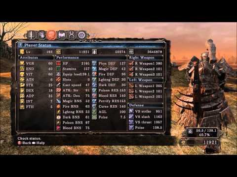 Dark Souls 2 Overpowered Tank Build