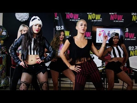 GRL Talk Influences, Teach The Shake in 92.3 NOW