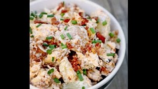 Homemade Loaded Bake Potato Salad