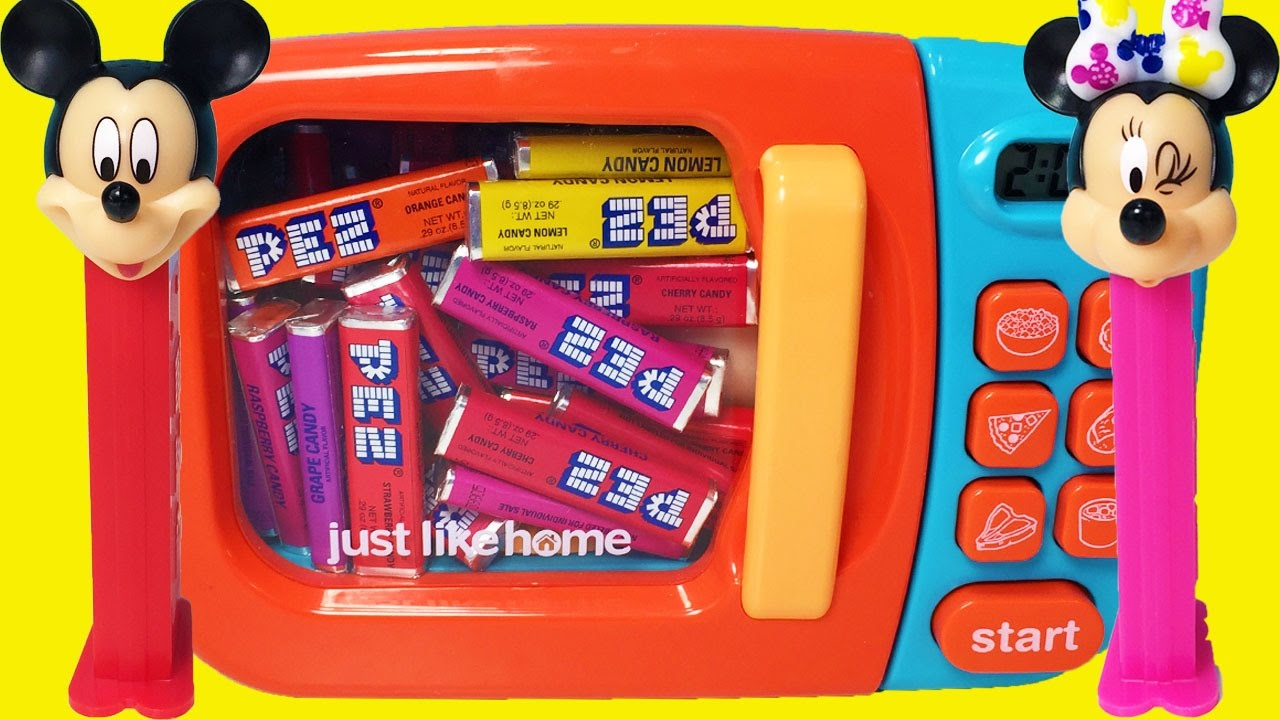 Microwave Pez Just Like Home Toy Appliances Blender