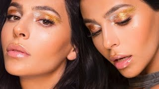 METALLIC EYE MAKEUP TUTORIAL 2017 | Teni Panosian