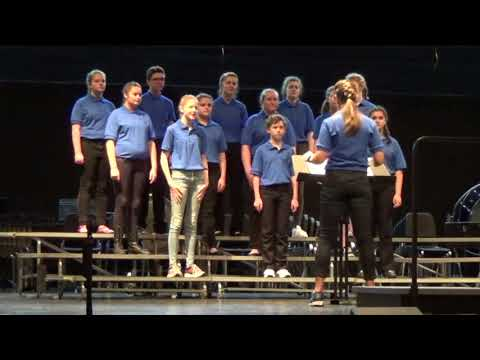 Vance Middle School Concert Choir_Trills & Thrills Festival_May 5th, 2018