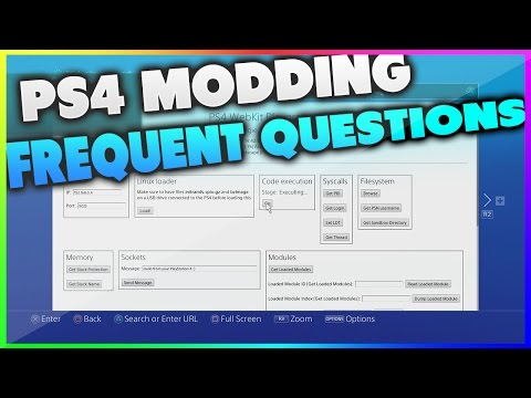 PS4 Modding FAQ! (How to mod PS4,  Free PS4 games?)