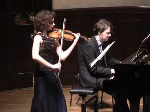 Schumann Violin Sonata No 2 - Mov IV, Deborah Marchetti and Stefan Wirth - Wigmore Hall London 2010