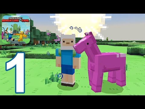 Minecraft PE: Adventure Time Survival - Gameplay Walkthrough Part 1 (iOS, Android)