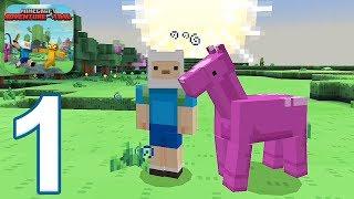 Minecraft PE: Adventure Time Survival - Gameplay Walkthrough Part 1 (iOS, Android)