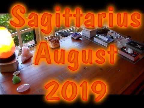 Sagittarius August 2019