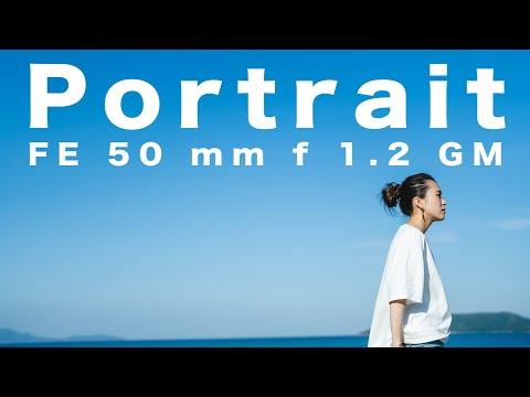 【50mm GM】海でポートレートムービー FE 50mm F1.2 GM   Sony   Lens  香川県高松市/α7sⅢ/pp11 S-Cinetone/DJI RS2/portrait