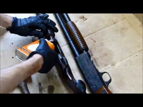 """""""A Tale of Two Ithacas"""" Model 37 Shotgun Extreme Rust Part 1"""