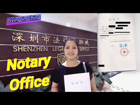 Public Notary Office | How To Translate & Notarize Documents In China
