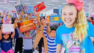 Buying EVERYONE in Target ANYTHING They Want!!