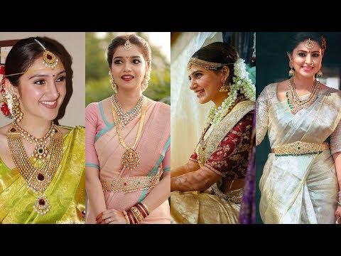 South Indian actress top 10 bridal looks| south actress bridal looks|Telugu Tamil Malayalam Kannada