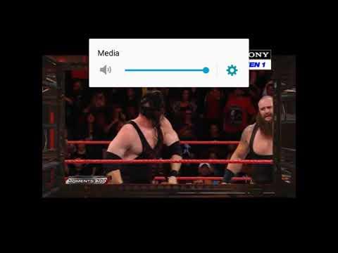 Noman ms Dhoni WWE RAW LIVE TODAY MATCH
