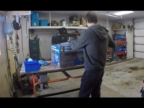 Air Filtration System - Power Fist 400CFM - Princess Auto