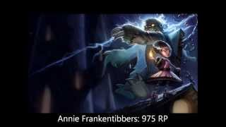 League of Legends: Skins limitadas (2013/2014)