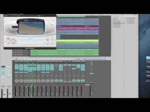 Introduction to Music Production - Assignment 5: Algorithmic vs. Convolution Reverb