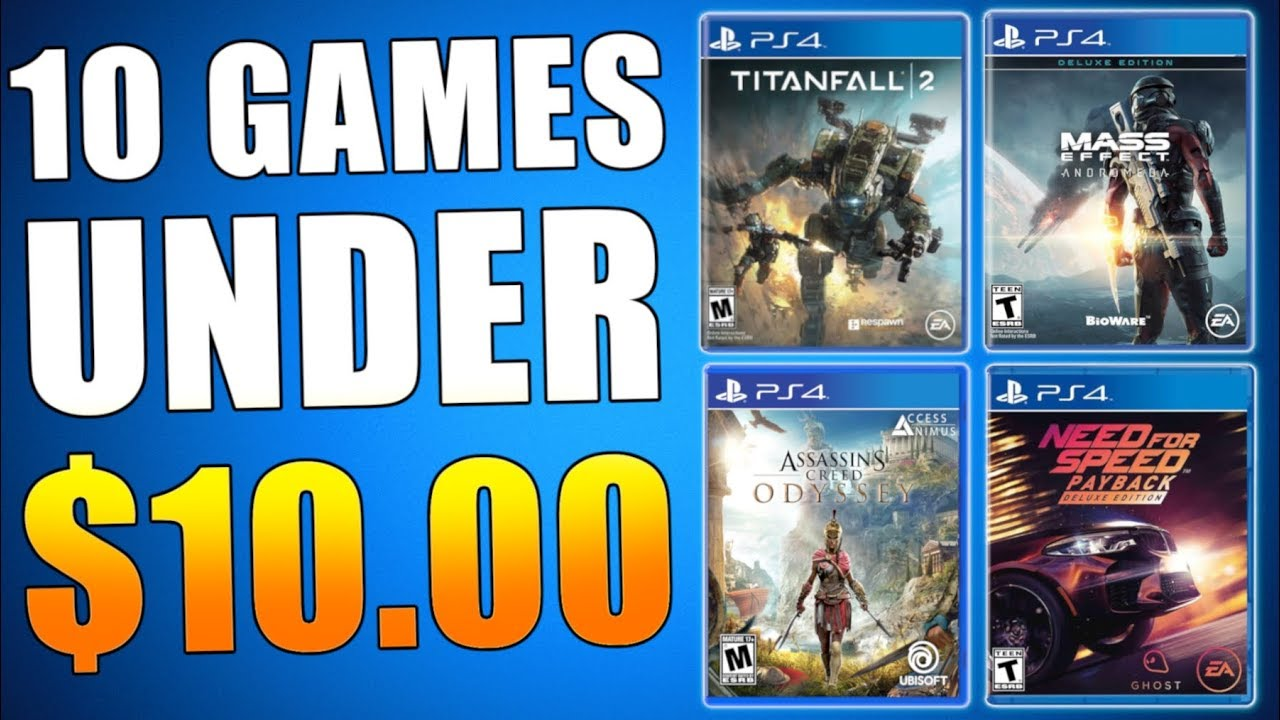 10 Best Ps4 Games Under 10 Ps Plus Update Playstation