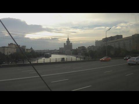 . Москва. Павелецкий вокзал- Жулебино- Поездка на автобусе