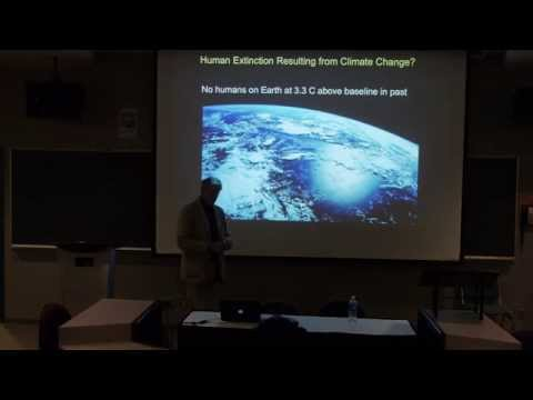 Guy McPherson speaks about abrupt climate change at SFU