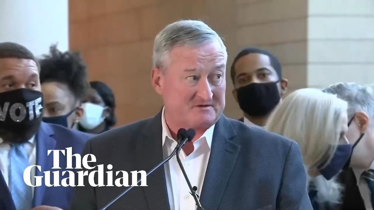 Philadelphia mayor tells Trump to accept he lost