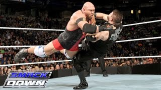 Ryback vs. Kevin Owens – Intercontinental Championship Match: SmackDown, Oct. 1, 2015