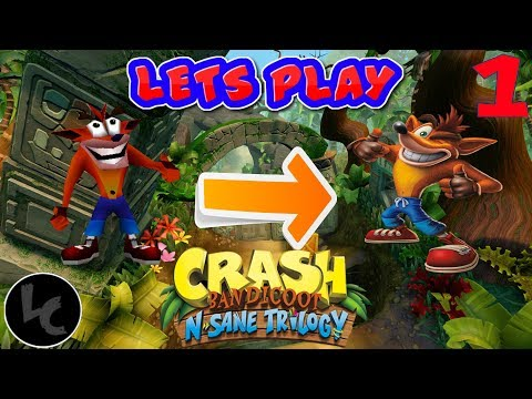 The Beginning of a New Journey!!!!!-Crash Bandicoot N. Sane Trilogy #1
