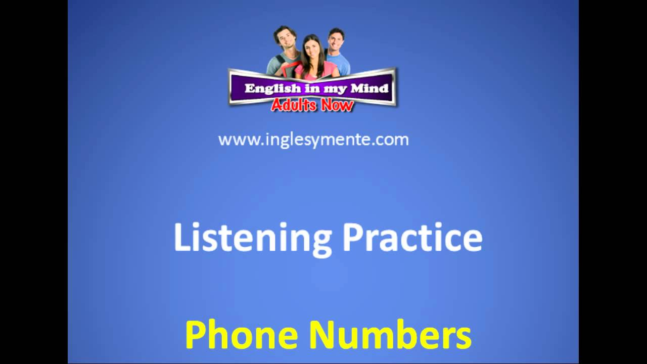 Listening to Phone Numbers