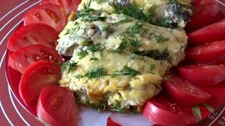 Как Запечь Карпа (Толстолобика) в Духовке с Овощами. Рыба Запеченная в Горчичном соусе/Baked fish