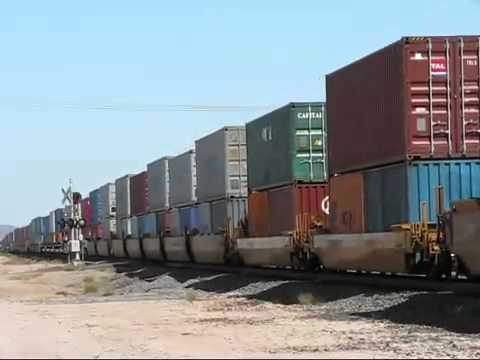 Железнодорожные перевозки контйнеров