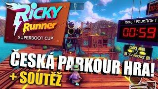 Česká PARKOUR HRA ZDARMA 🍋 Náš level v Ricky Runner